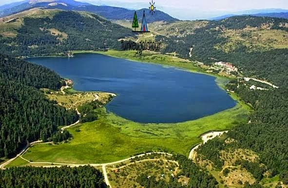 جولة سياحية الى بحيرة ابانت في بولو التركية